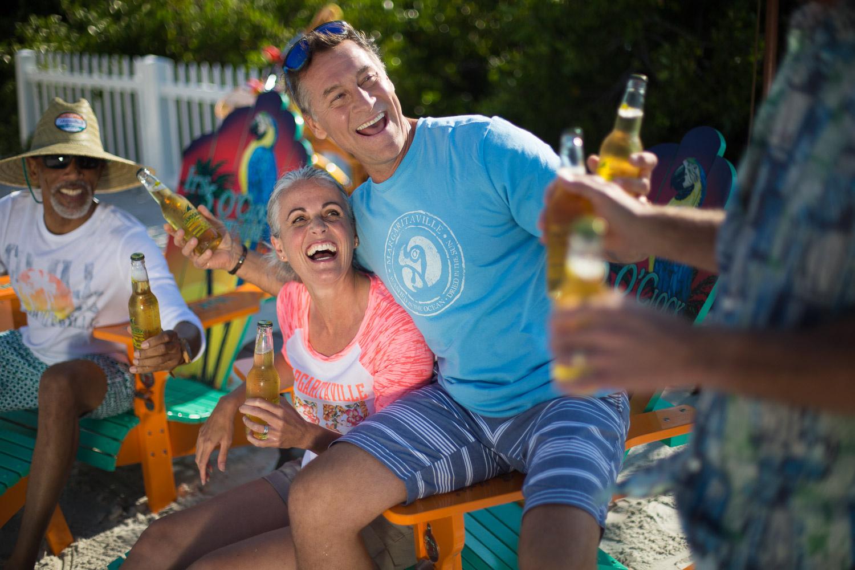 Margaritaville lifestyle shoot by steven martine