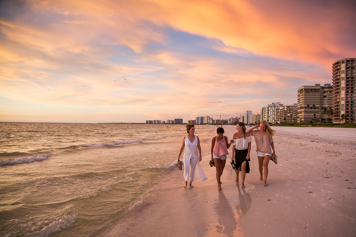 Marco Island at sunset by steven martine