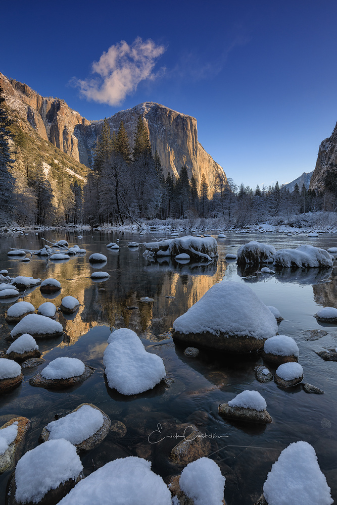 Yosemite Blue by Erick Castellon