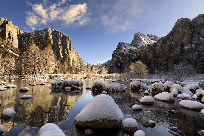 Winter in Yosemite by Erick Castellon