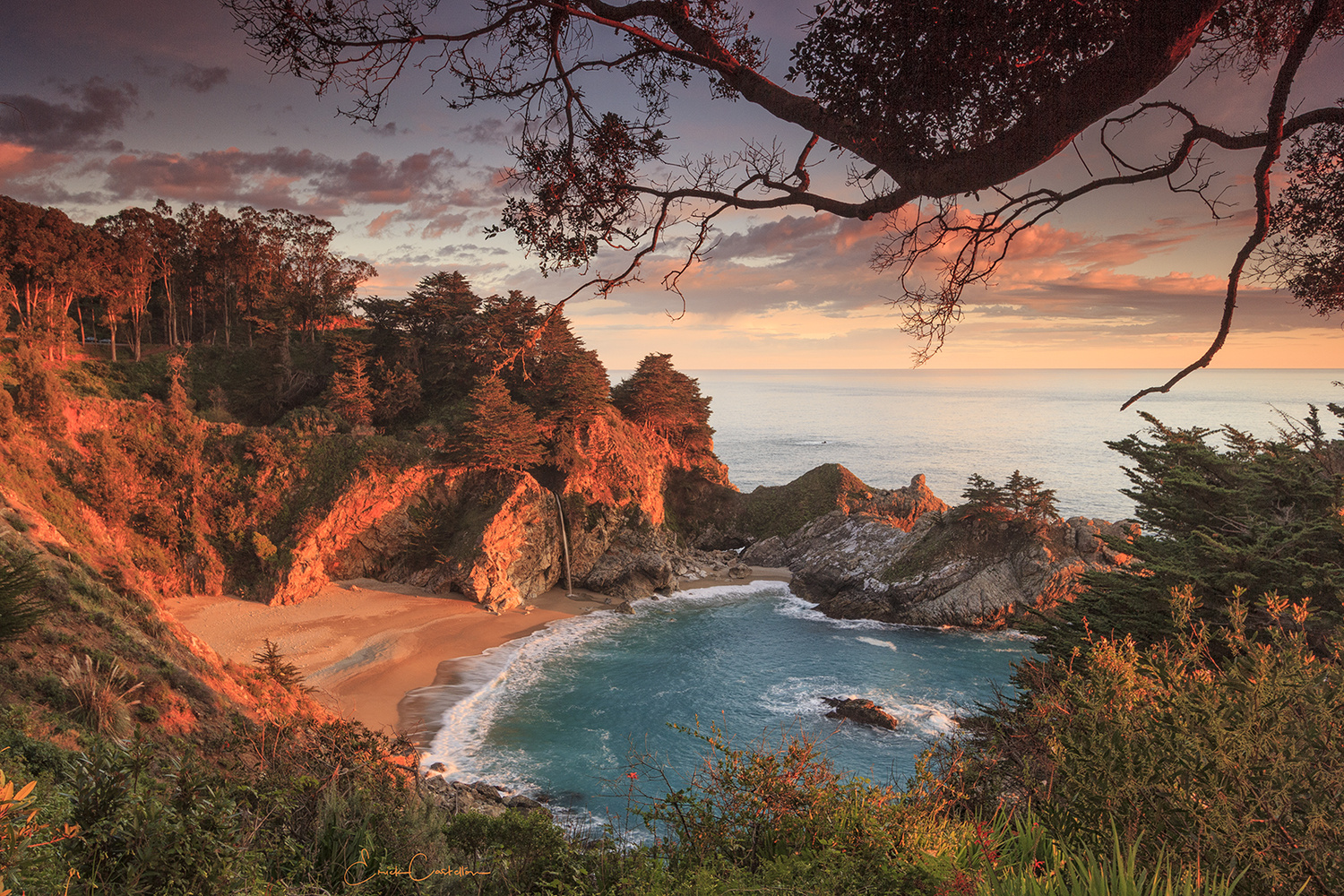 Paradise at Mcway Falls by Erick Castellon