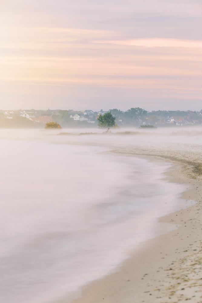 Sunrise at Baltic Sea by Arek Burcon