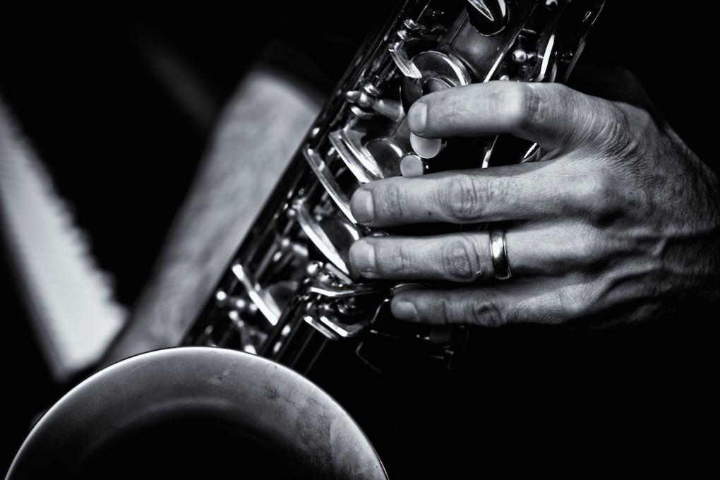 Ed's Sax by Charles Fishburn