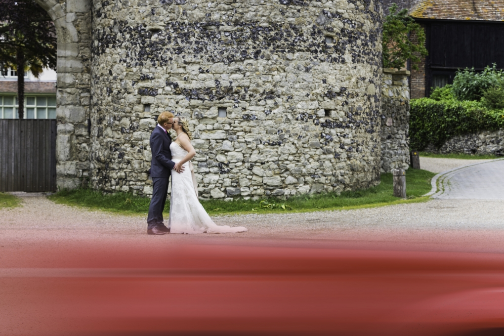 My First Wedding Couple Shot by Edward Solly