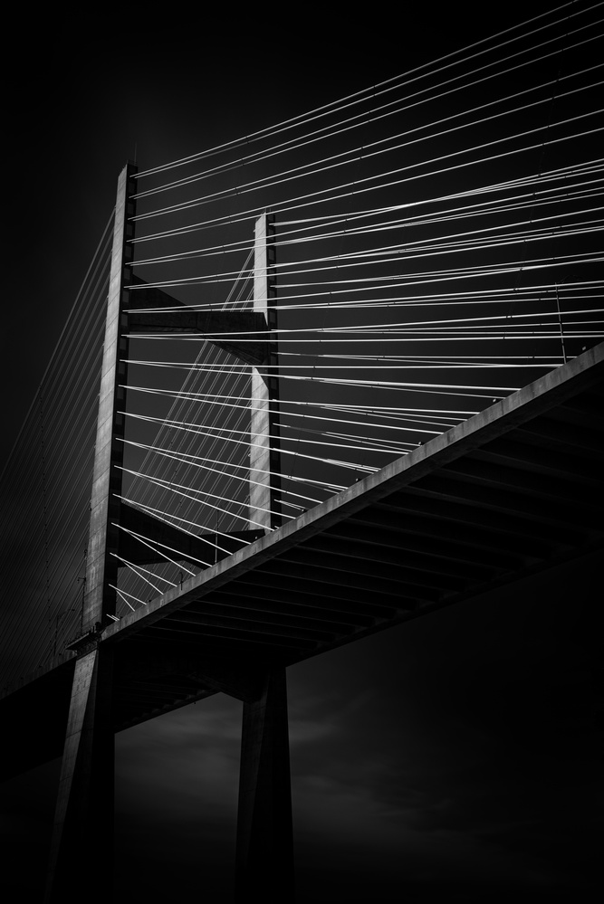 Dames Point Bridge by Ruben Medrano