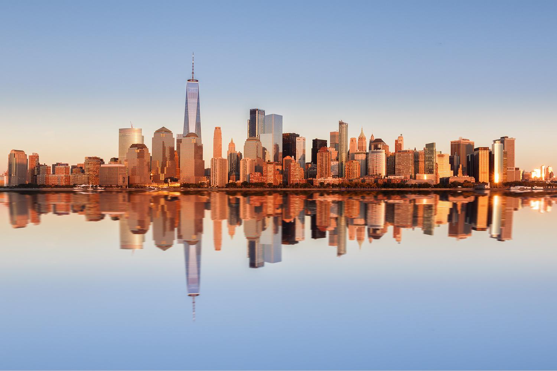 New York City Sunset by Max Tischler