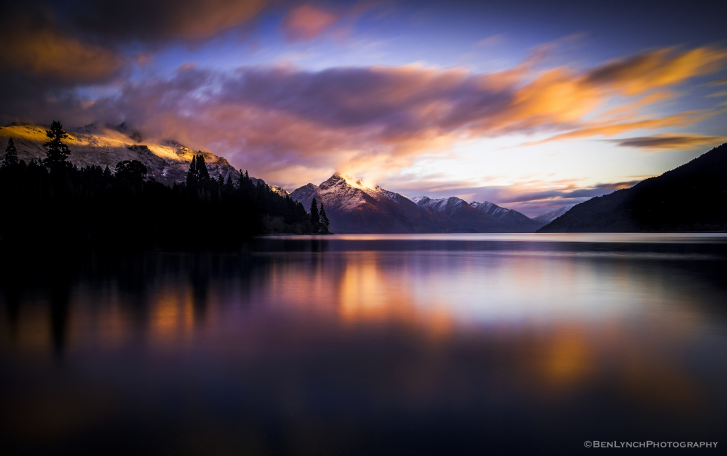 NZ Lake Wakatipu by ben lynch