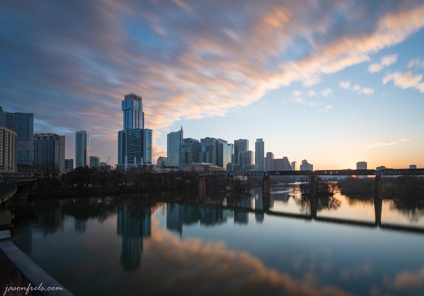 Austin at dawn by Jason Frels
