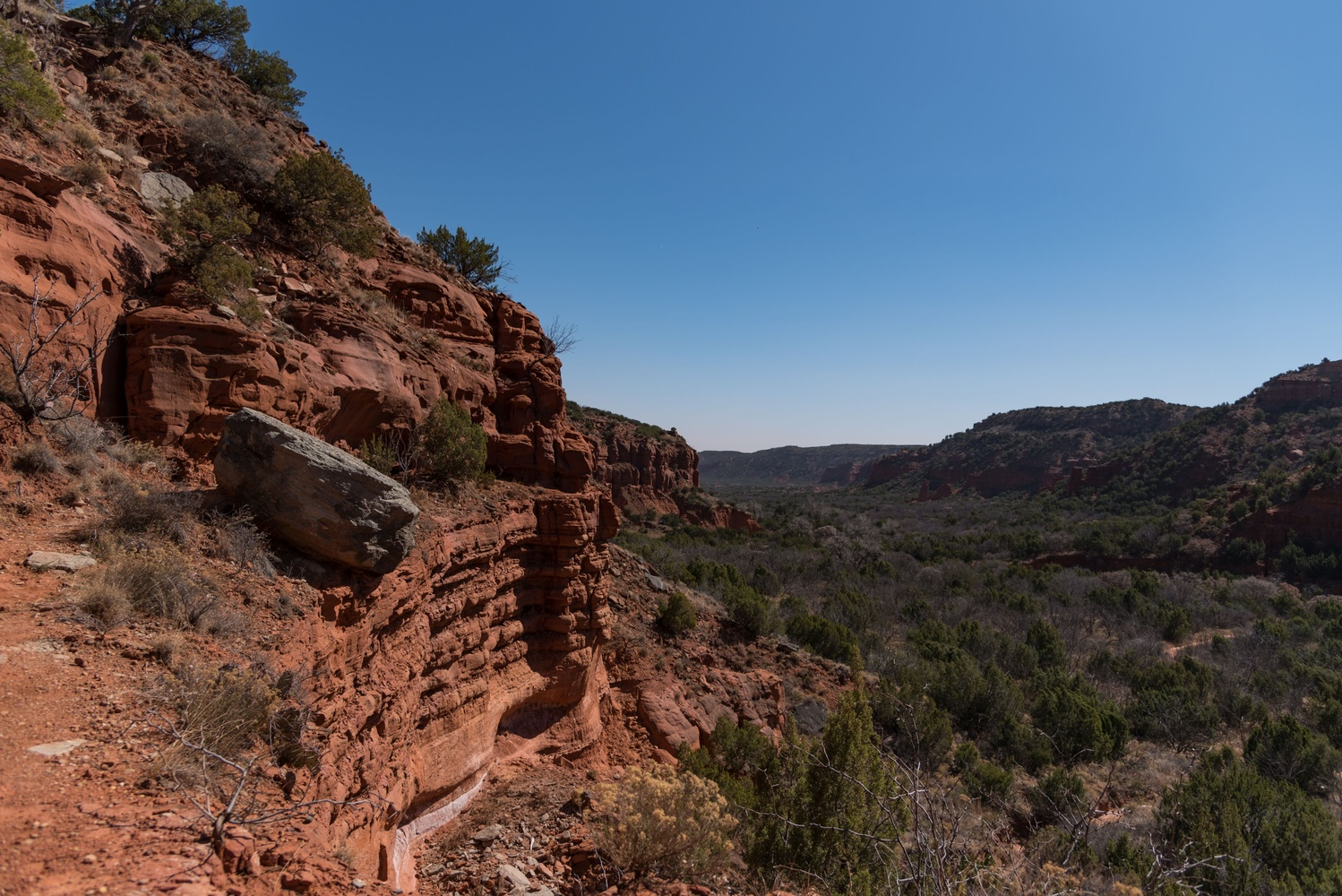 Cliffs of Caprock Canyons by Jason Frels