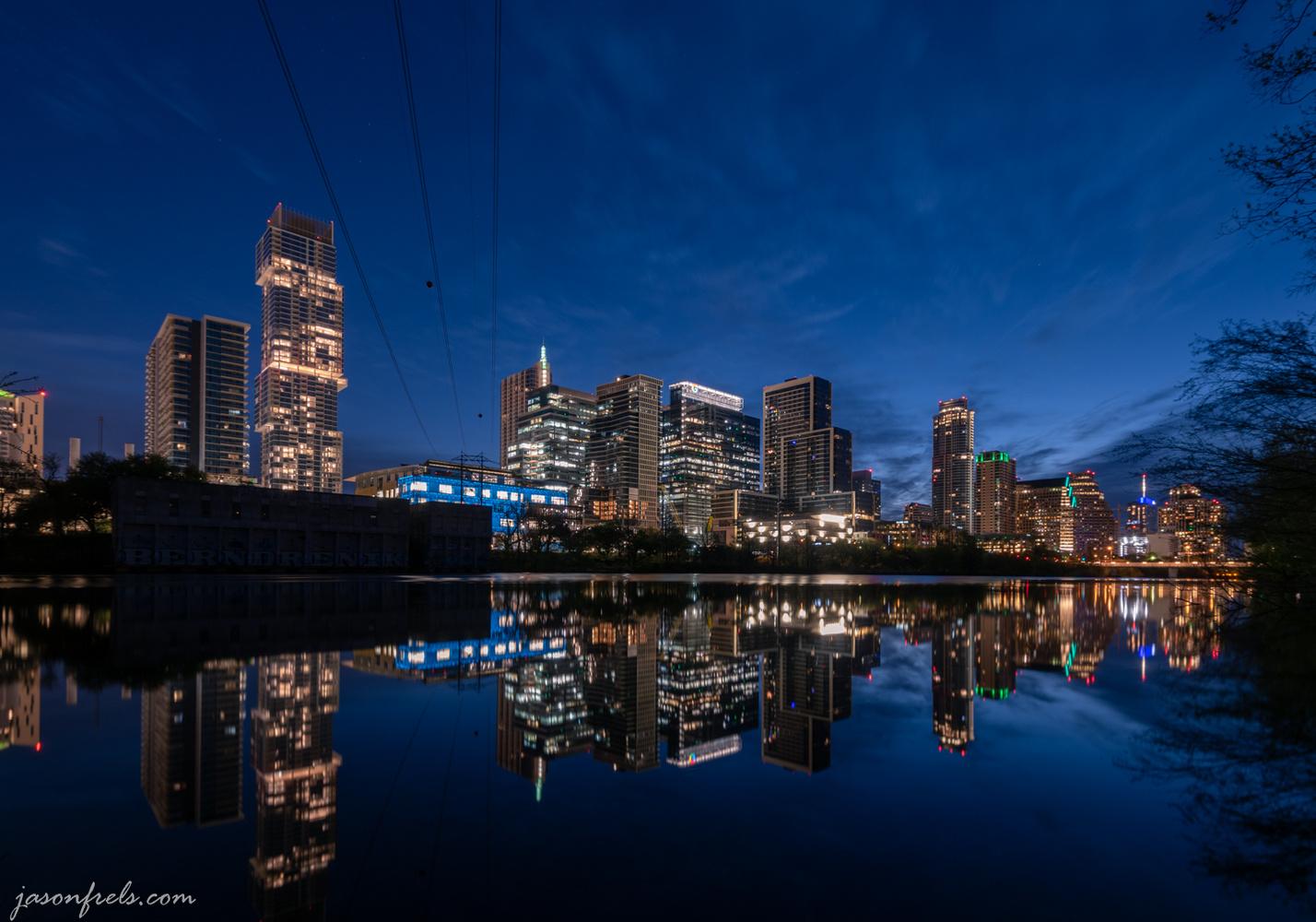 Austin Texas Reflected by Jason Frels