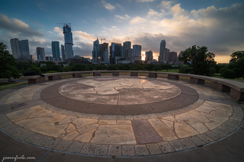 Doug Sahm Hill Sunrise by Jason Frels