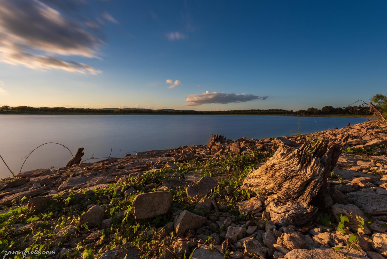 Long exposure at Lake Buchanan by Jason Frels