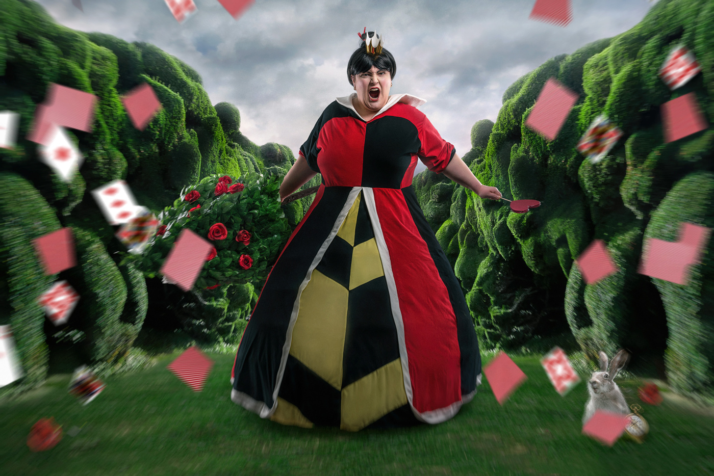 Queen of Hearts Enraged by lorenzo emme
