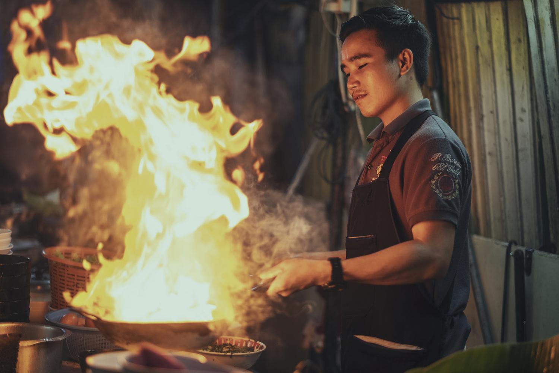 Cooking Thai style by Kirk Schwarz