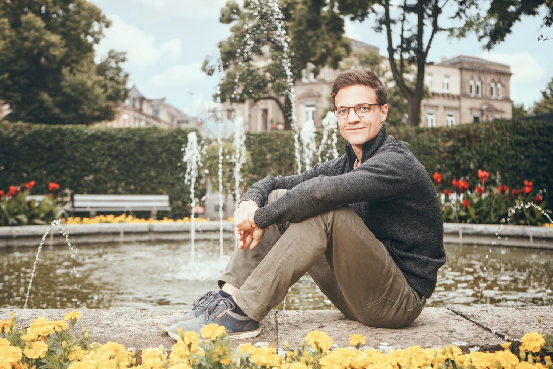 Editorial Portrait by Ludwig Hagelstein
