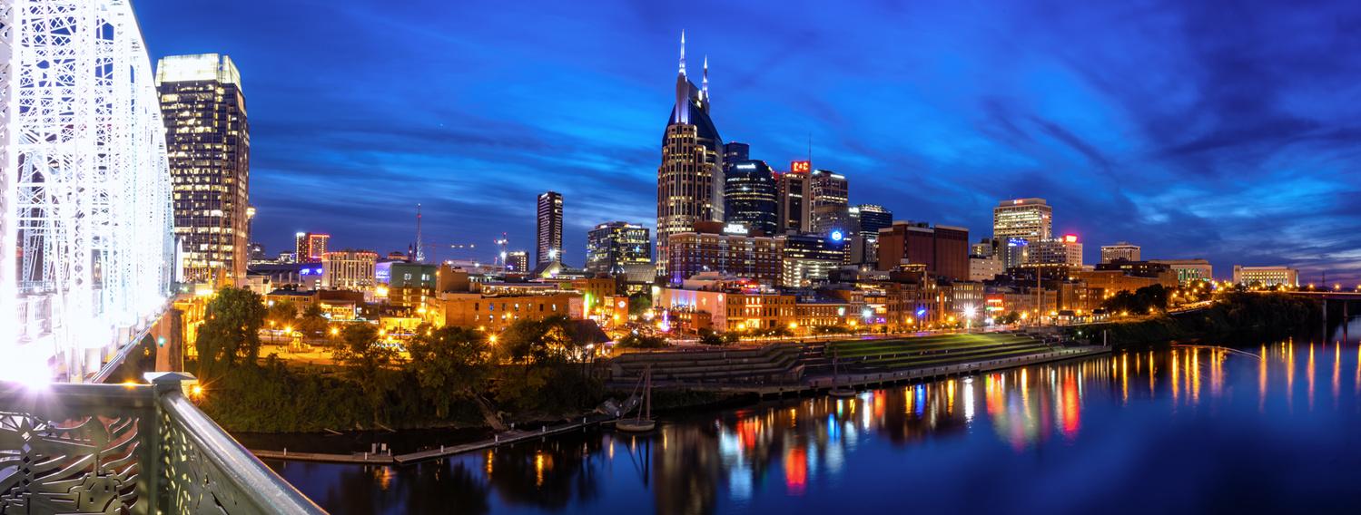 Nashville Skyline by David Smith