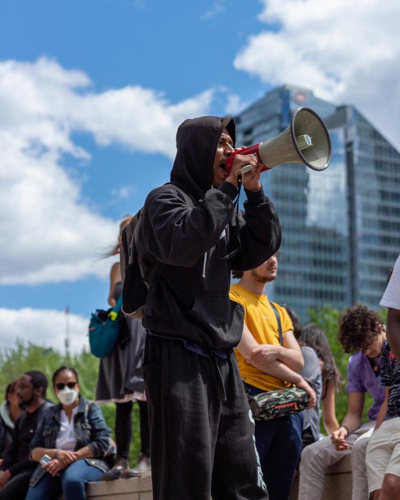 BLM Protest Speaker by Jacob Boavista