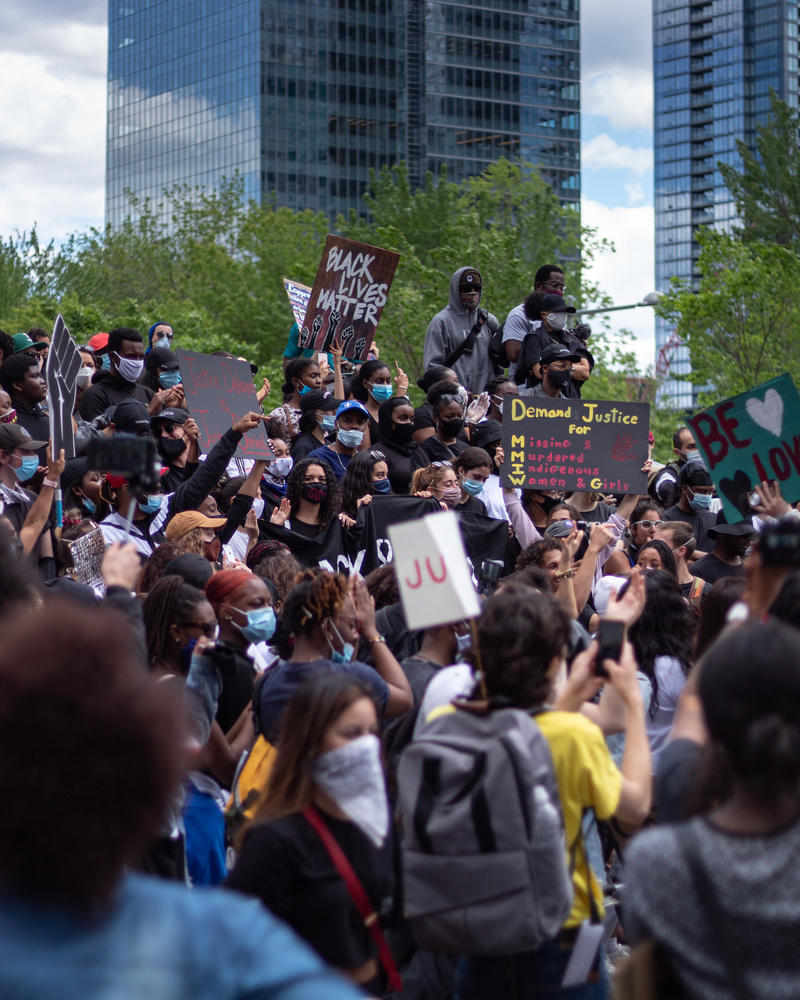 BLM Protesters by Jacob Boavista