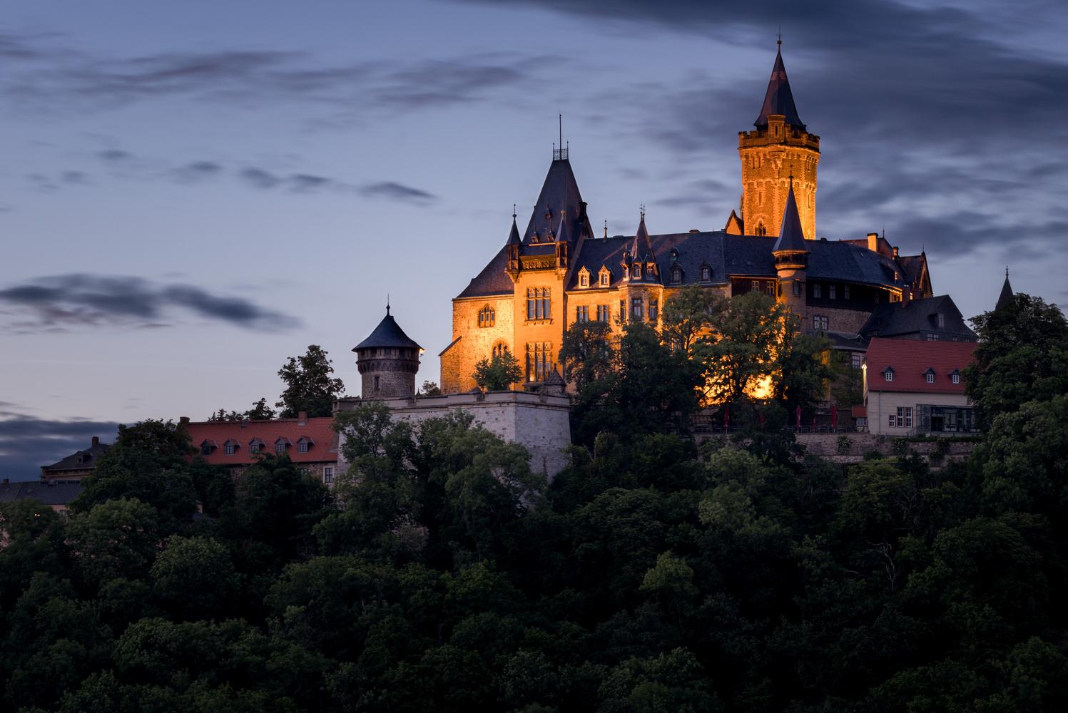 Wernigerode Castle by Sebastian Schmidt