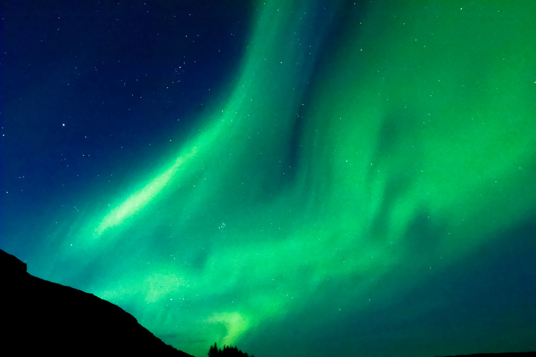Northern Lights West Fjords Iceland by Josef Schaak