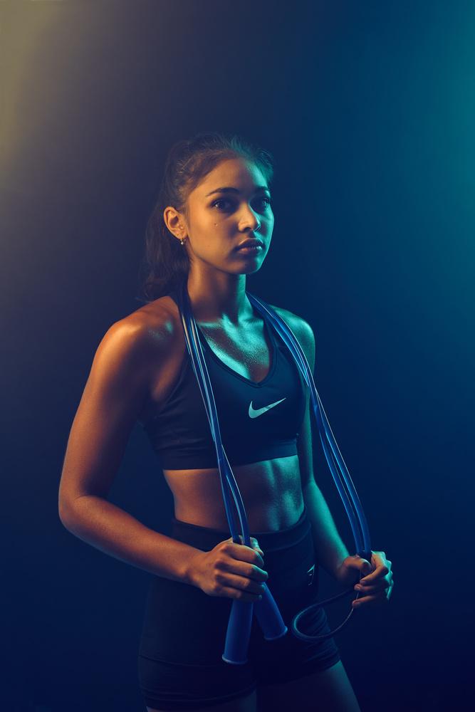 Kara fitness portrait by Shian bang Ngoh