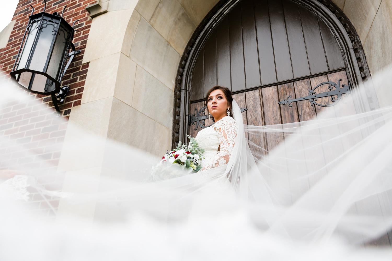 Old Sanctuary Bride by Zack Bradley