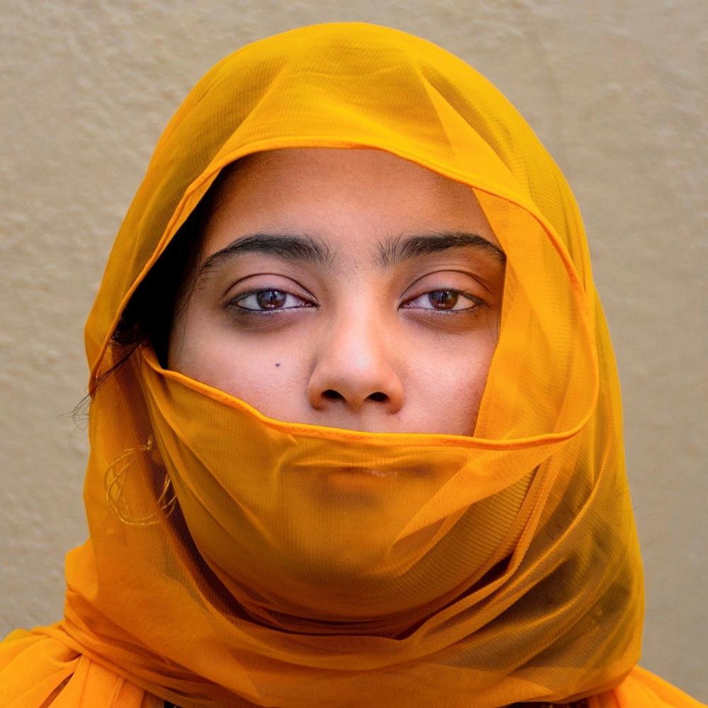 Yellow Veil by Bhuvan N