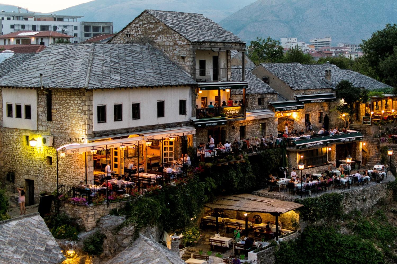 Mostar by Anjan Banerjee