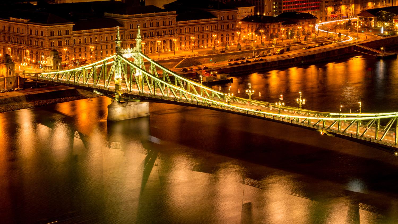 Liberty Bridge by Anjan Banerjee