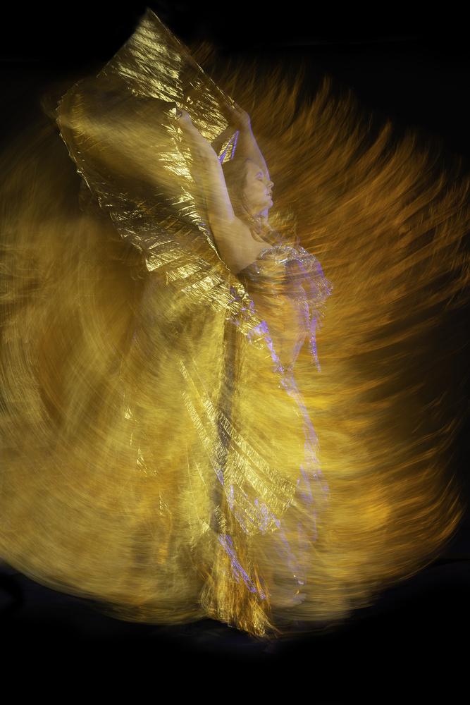 Dancing in Phoenix Fire by Allen Ortiz