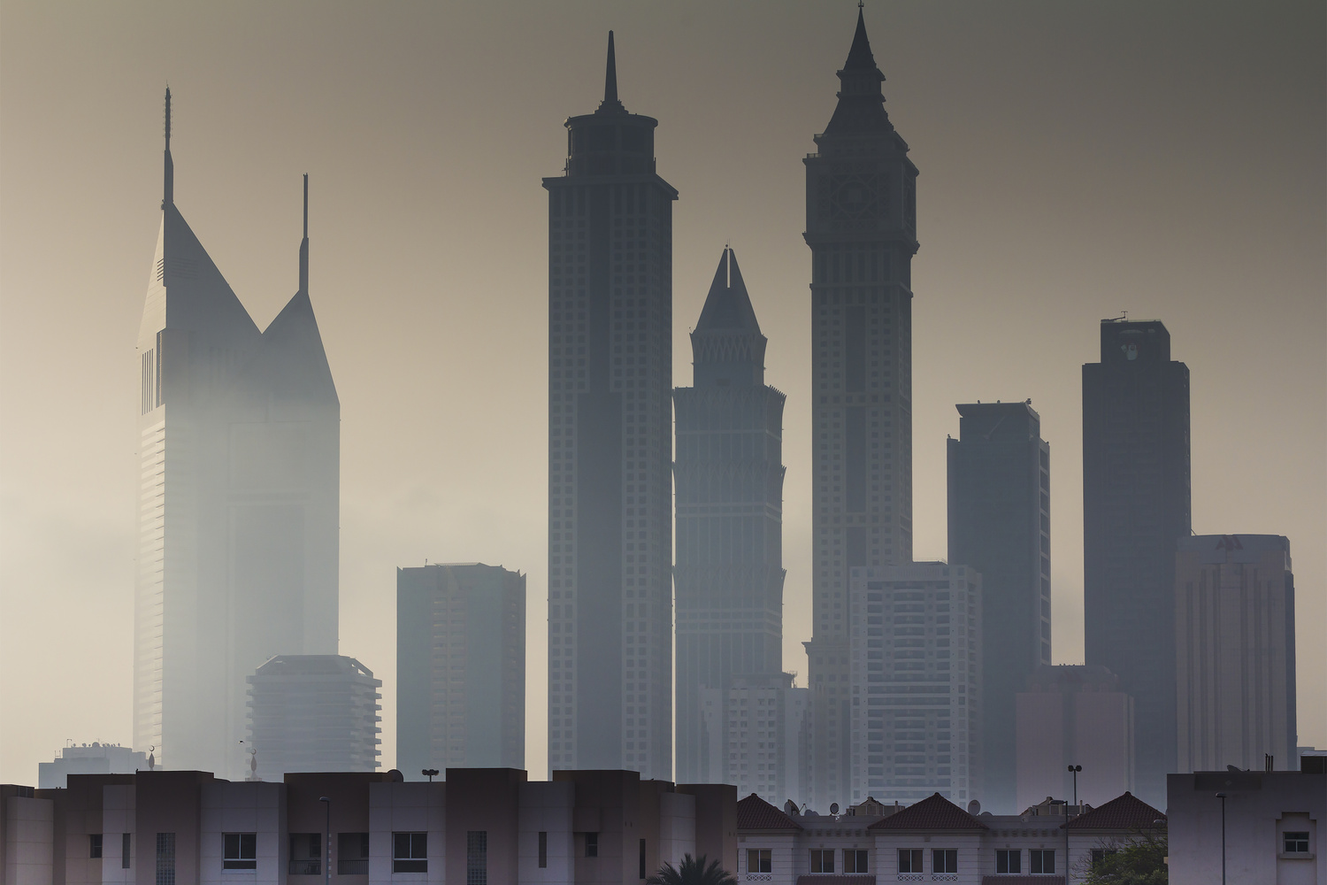 Early Morning Dubai by Dieter Kaupp