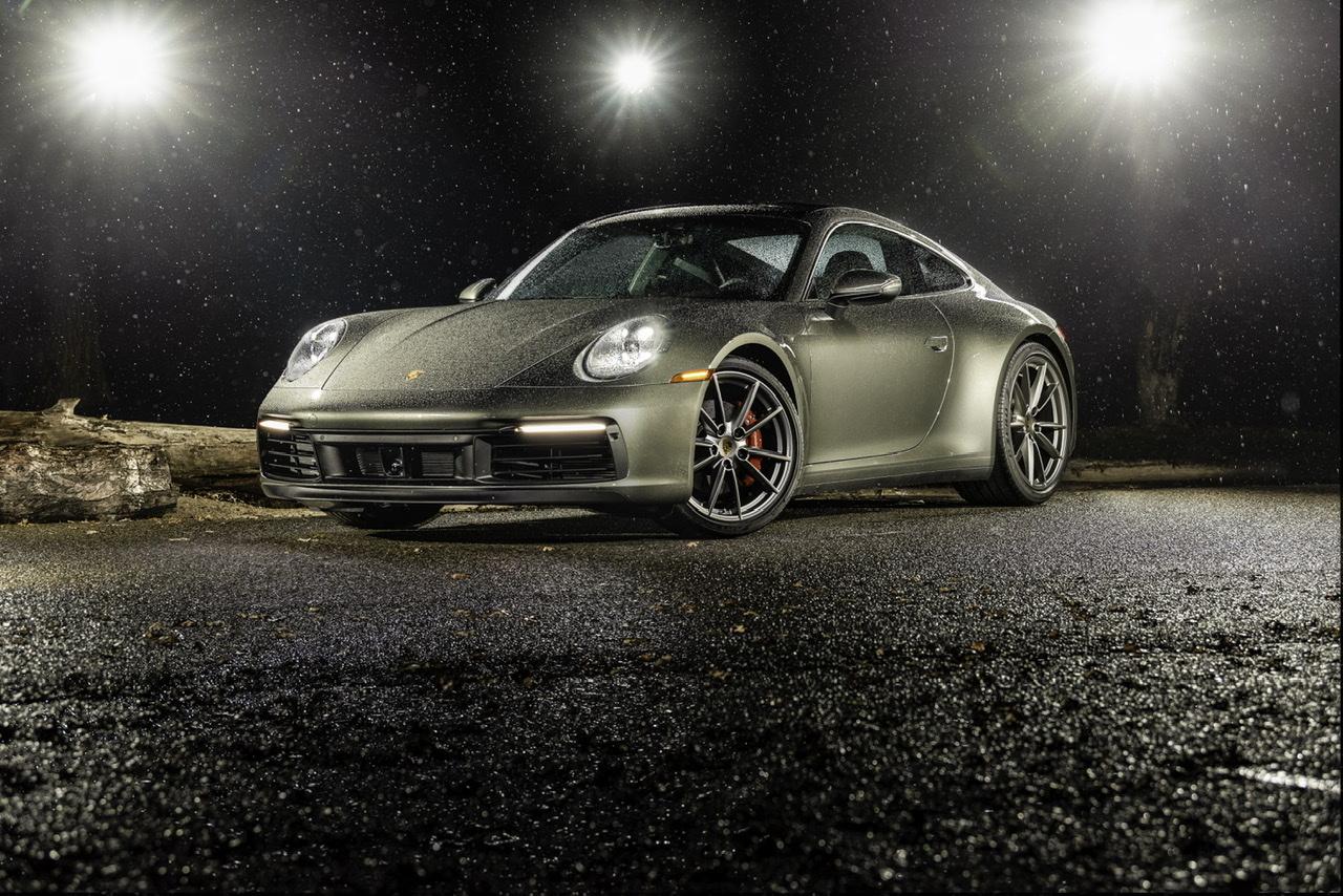 2020 Porsche 992 In The Rain by Justin Keys