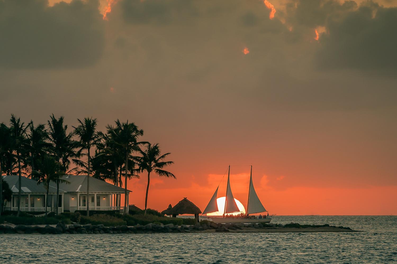 Sunset Edge by Ovi Mustea