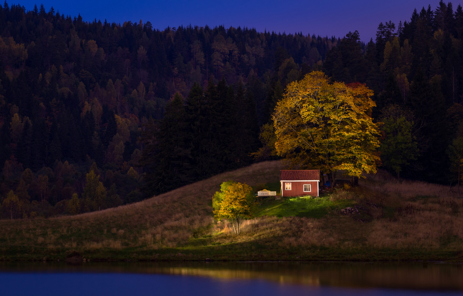Painting with light by John Petter Hagen