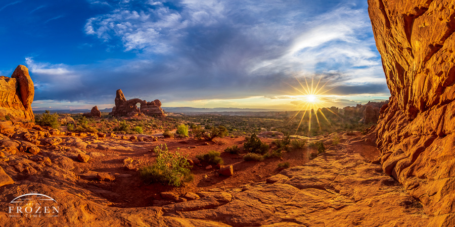 Golden Hour Over Arches National Park No. 10 by Jeff Smith