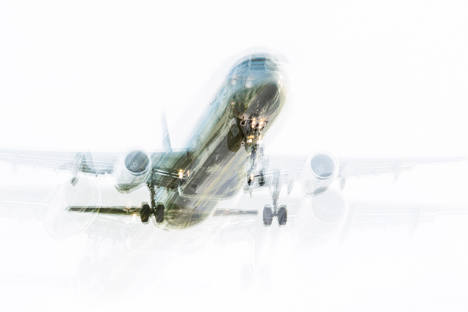 Abstract Jetliner 02 by Michael Oster