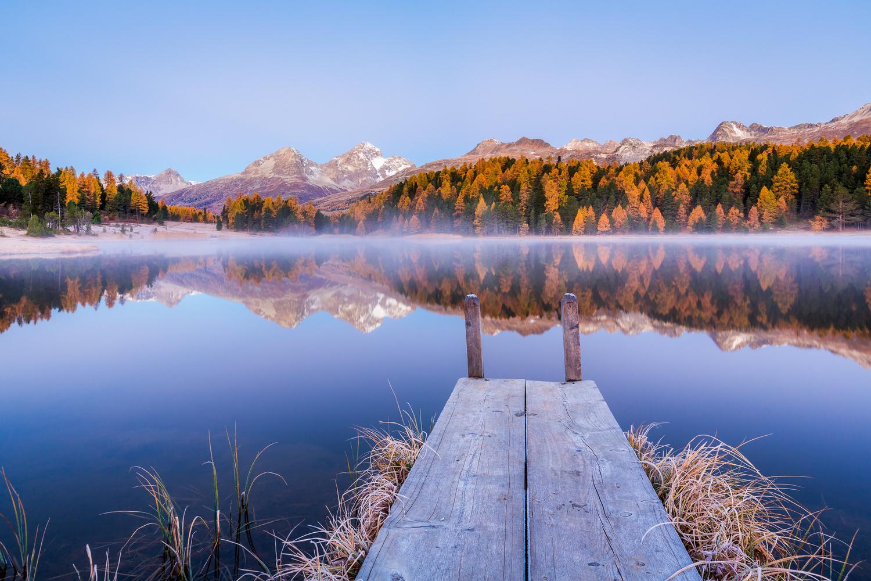 Lej da Staz / St-Moritz, Switzerland by Jeroen Hribar