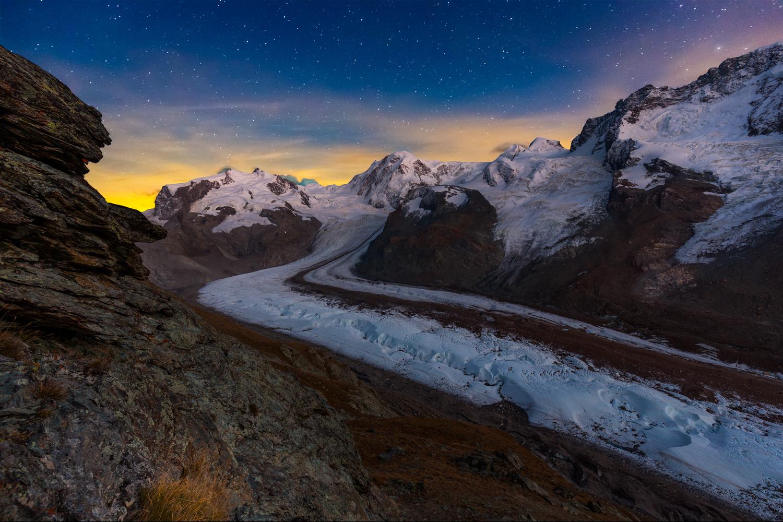 Gorner glacier / Zermatt, Switzerland by Jeroen Hribar