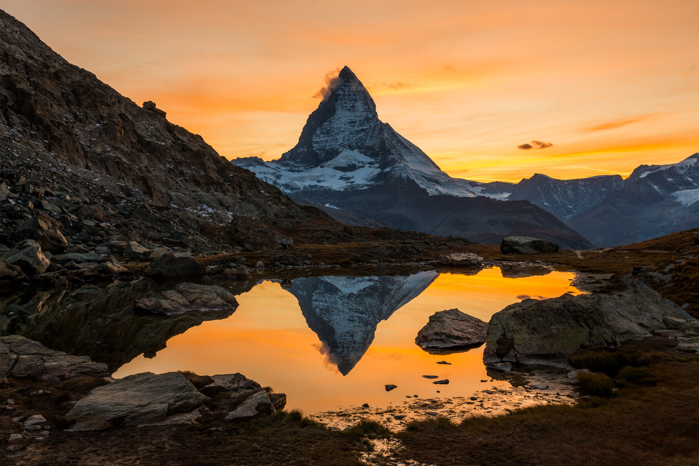 Golden sunset / Zermatt, Switzerland by Jeroen Hribar