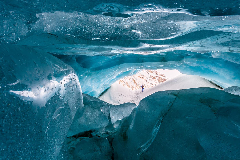 Zinal glacier / Valle d'Anniviers, Switzerland by Jeroen Hribar
