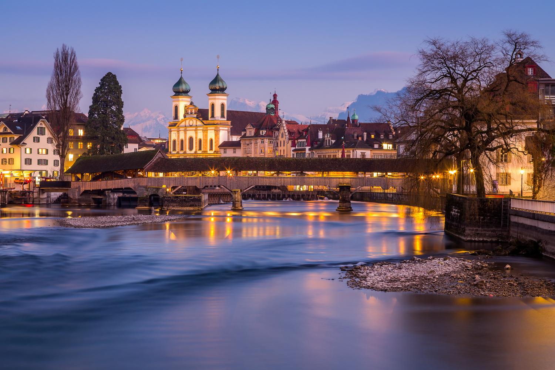 Spreuerbrücke / Lucerne, Switzerland by Jeroen Hribar