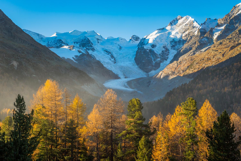Morteratsch glacier / Pontresina, Switzerland by Jeroen Hribar