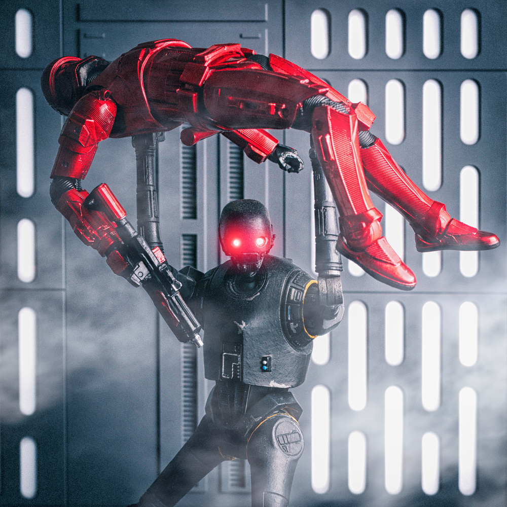 K-2SO gets angry... by Phil Wrighton