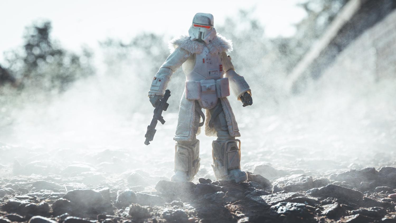 Lone Range Trooper by Phil Wrighton
