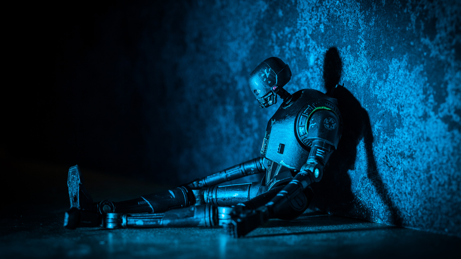 Even droids get depressed... by Phil Wrighton