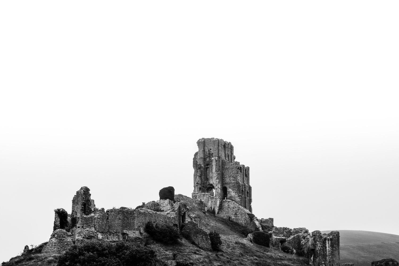 Corfe Castle by Jack Bronziet