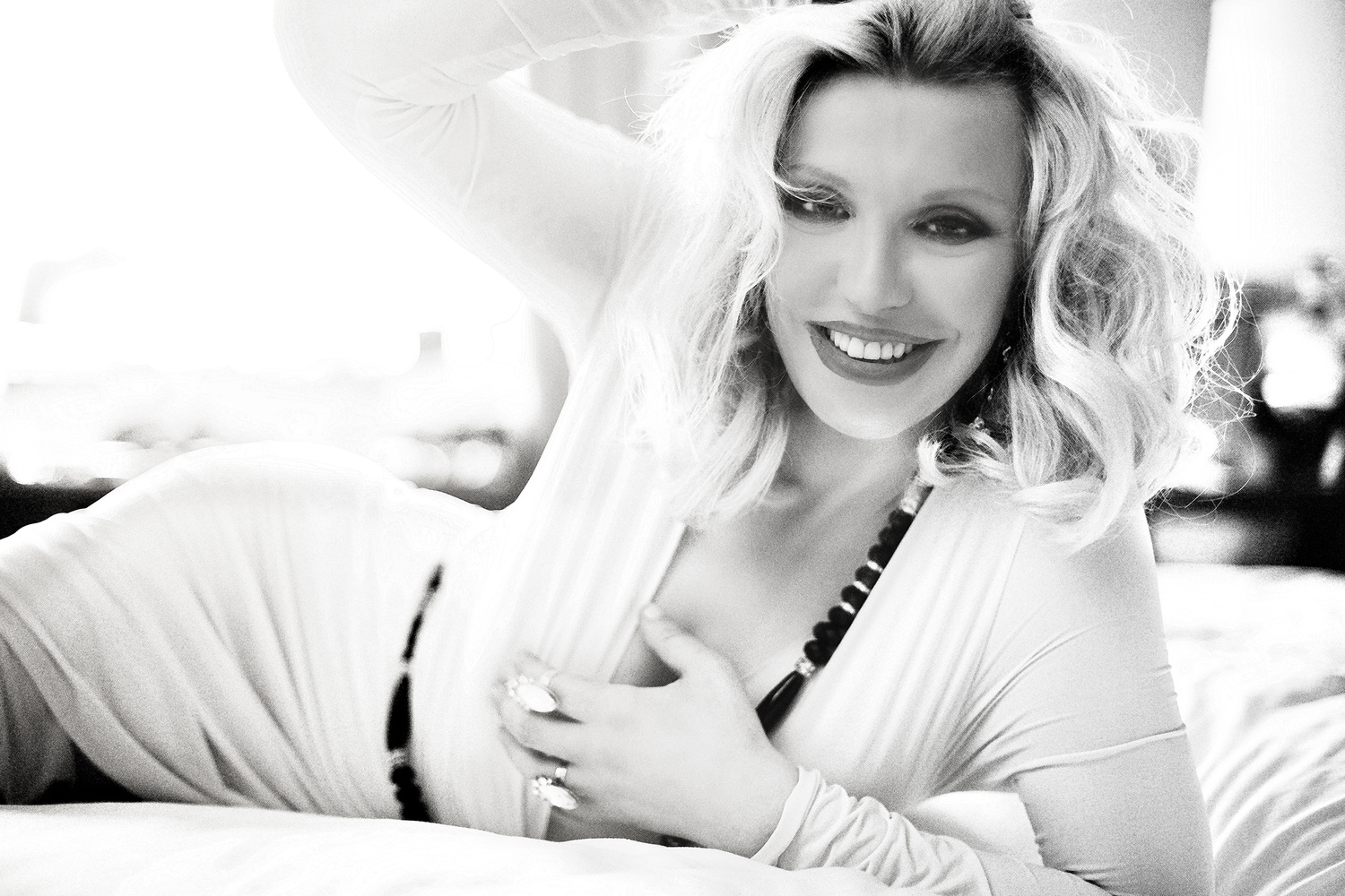Courtney Love by Walid Azami