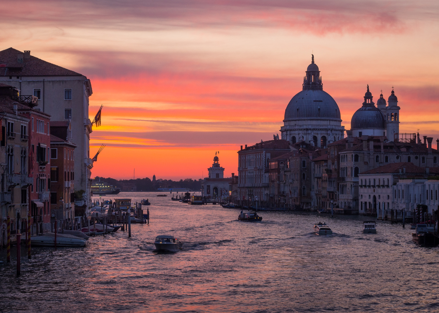 Venice morning by Piotr Pogonowski