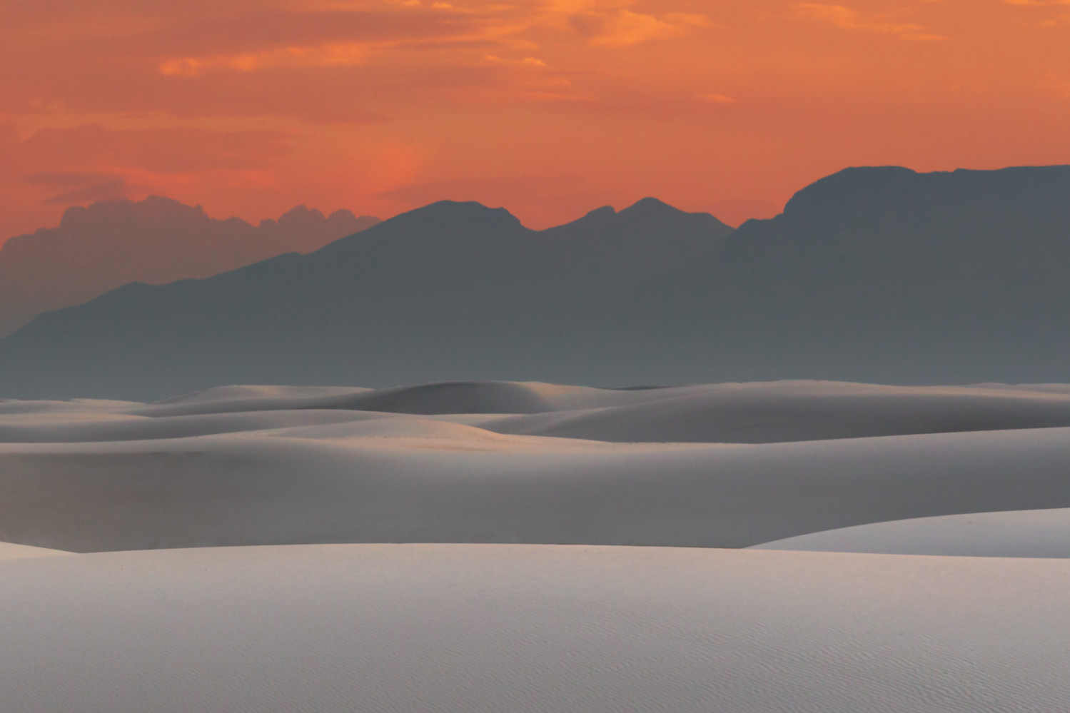 The Latest National Park - White Sands by Cliff Mueller