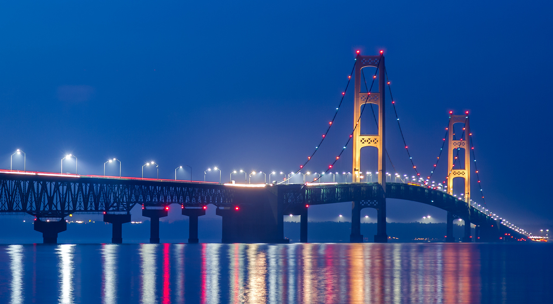 Blue Hour Bridge by Cliff Mueller